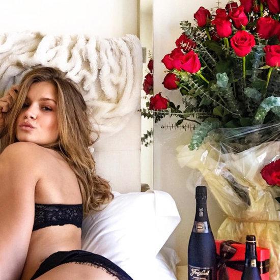How Victoria's Secret Supermodels Spent Their Valentine's Day