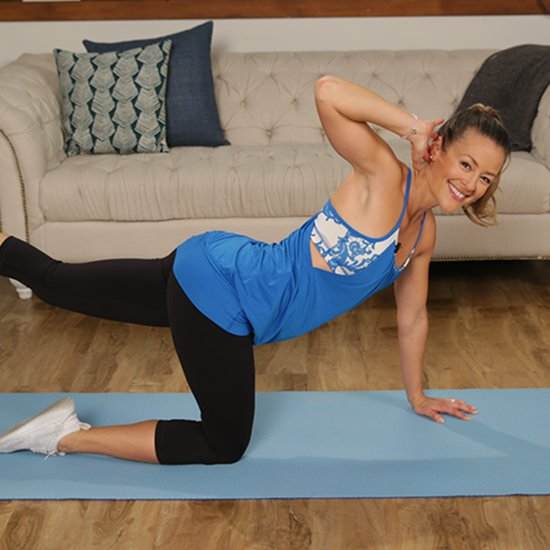 Yoga Poses To Tone Arms And Upper Back Popsugar Fitness