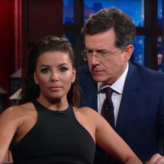 Eva Longoria and Stephen Colbert Presidential Soap | Video