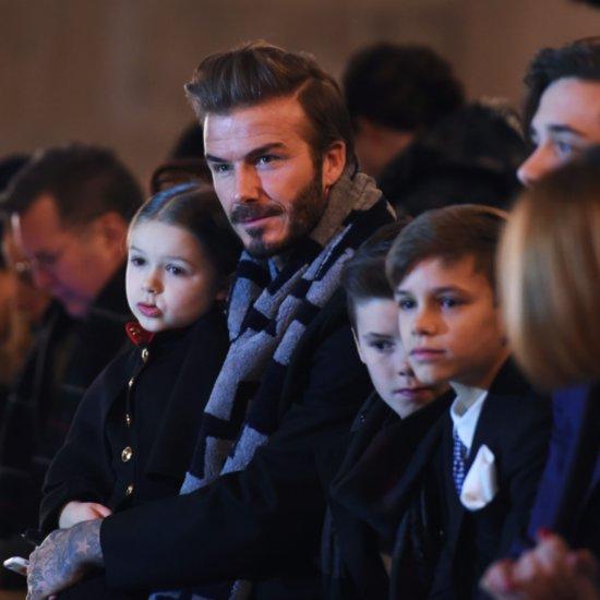 Victoria Beckham Talking About Harper's Style