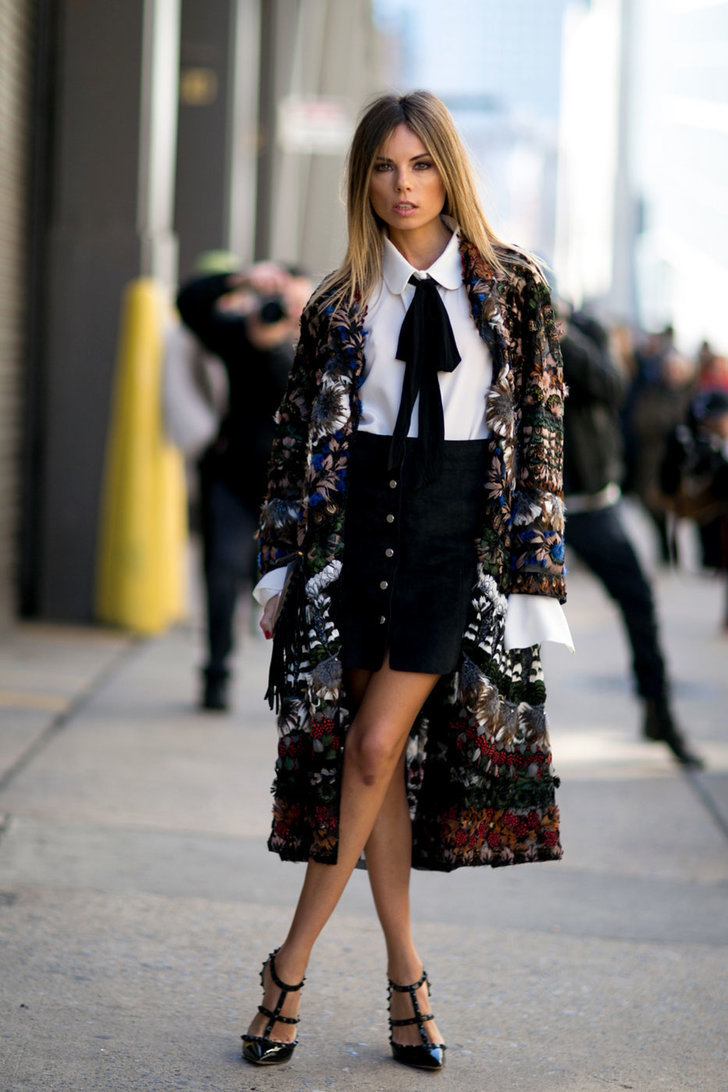 Fashion Shopping Style 46 Outfit Ideas For Your Most Stylish Winter Yet Popsugar Fashion