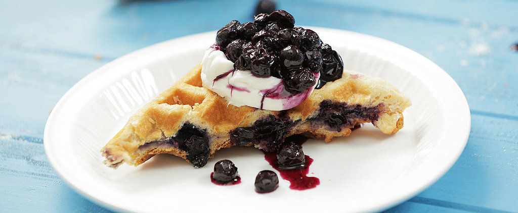 Yes, Blueberry-Lemon Cheesecake Waffles Are a Thing (and You Need Them Now)