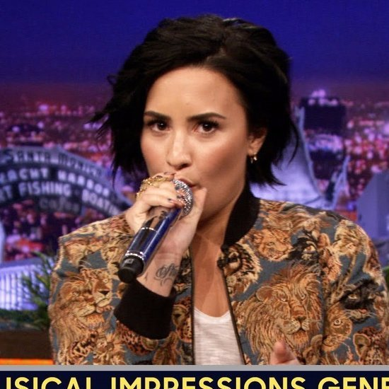 Demi Lovato's Celebrity Impressions on Tonight Show | Video