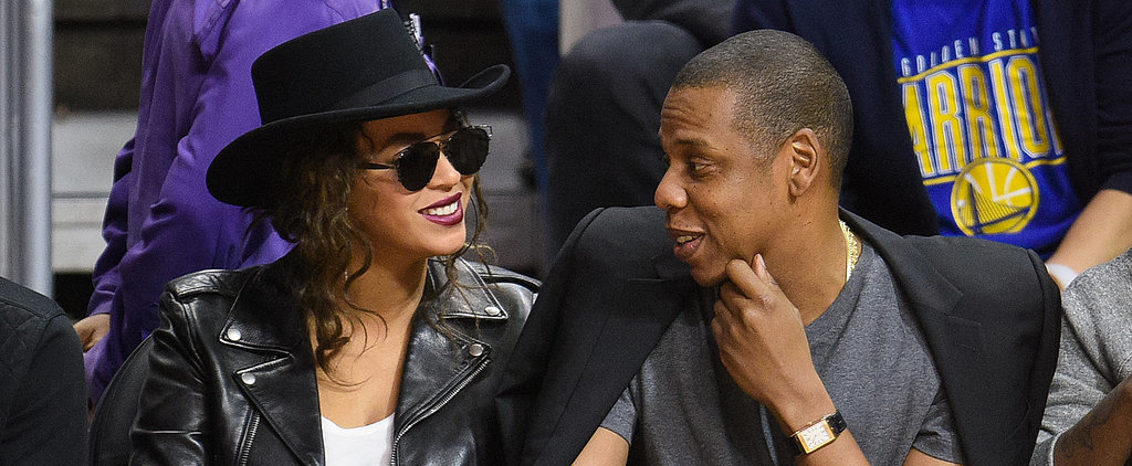 Beyoncé and Jay Z's Courtside PDA Is a Certified Slam Dunk