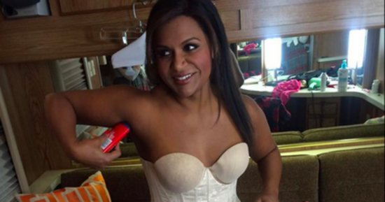 These Before-And-After Photos Encapsulate Everything We Love About Mindy Kaling