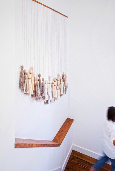 Easy DIY Tassel Wall Hanging