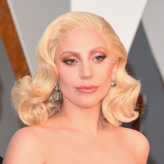 Lady Gaga Hair and Makeup at the 2016 Oscars
