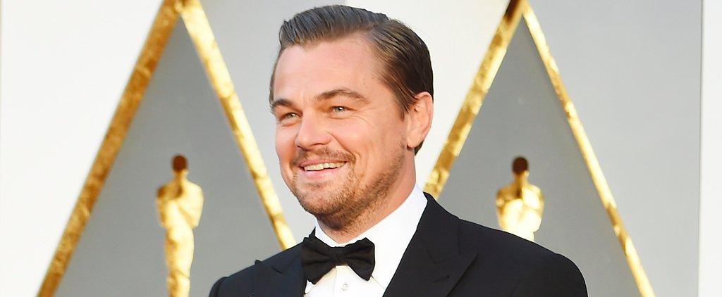 Leonardo DiCaprio Wins His Very First Oscar!