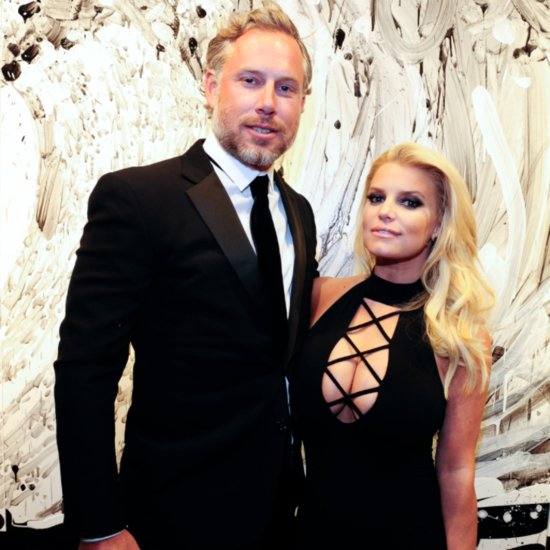 Jessica Simpson Eric Johnson Out at LA Gallery February 2016