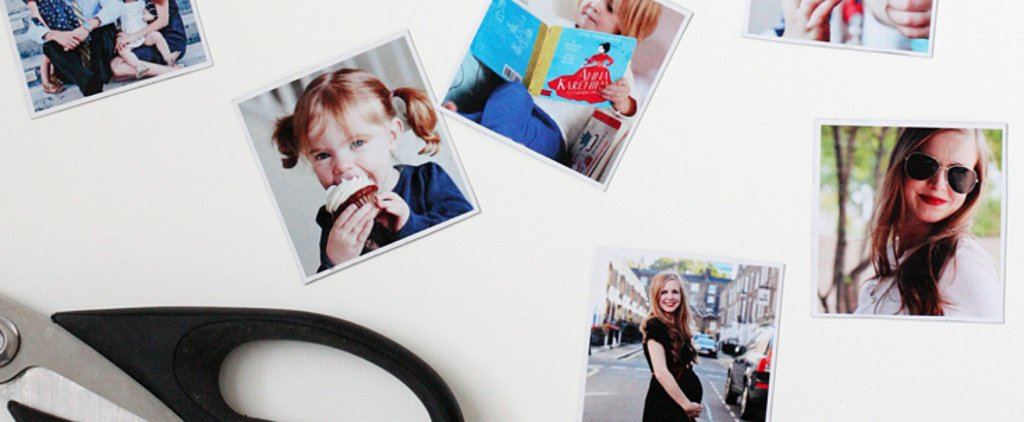 These DIY Instagram Photo Magnets Are Exactly What Your Kitchen's Been Missing