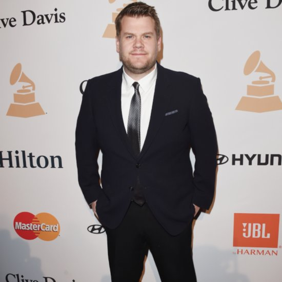 Find Out Why James Corden Recently Ended Up in Bed With Tyga