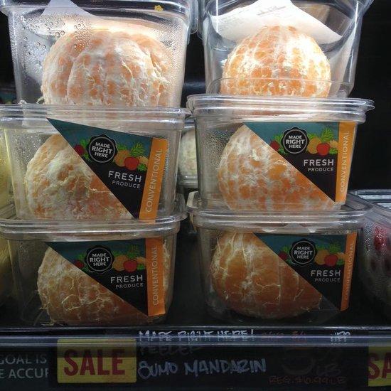 Whole Foods Sells Peeled Oranges