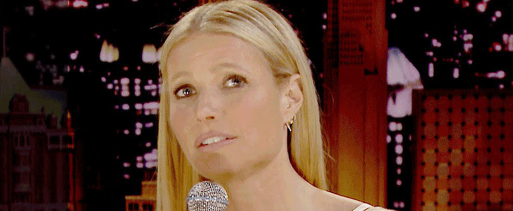 """Gwyneth Paltrow and Jimmy Fallon Sing Lionel Richie's """"Hello"""" — but With a Twist!"""