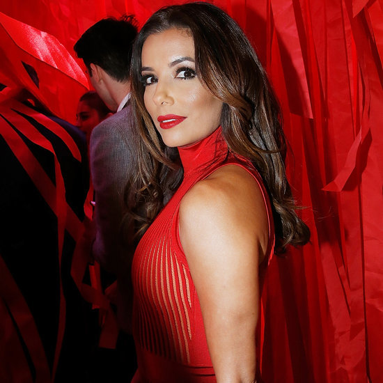 Eva Longoria at L'Oreal Red Obsession Party 2016