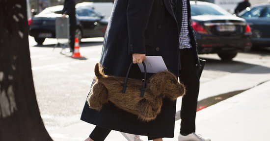 Thom Browne's Wiener-Dog Bag Made Me a Street-Style Star