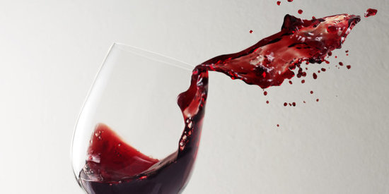 The Absolute Best Way To Clean Up A Red Wine Spill