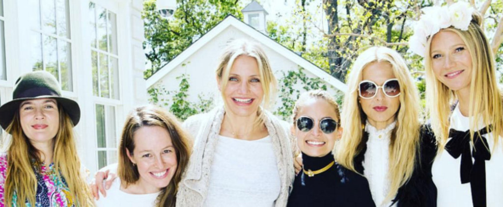 Gwyneth Paltrow Celebrates Goop With the Help of Reese Witherspoon, Cameron Diaz, and More Celebrity BFFs