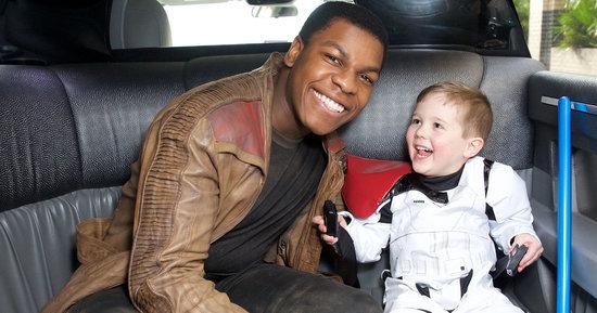 John Boyega Breaks Out His 'Star Wars' Costume To Visit Sick Fans