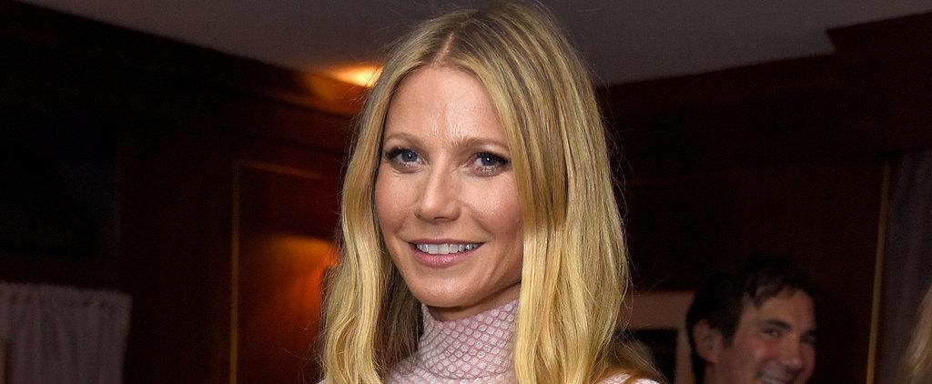Gwyneth Paltrow Channels Her Inner Barbie at a Hollywood Soirée