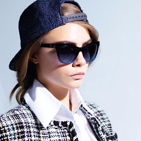 Cara Delevingne Chanel Eyewear Campaign