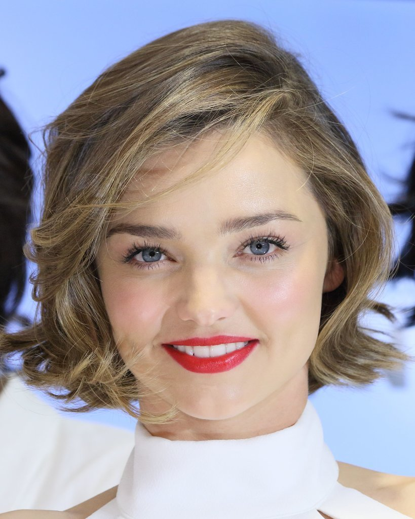 Miranda Kerr Short Hair Feb 2016 Popsugar Beauty Australia
