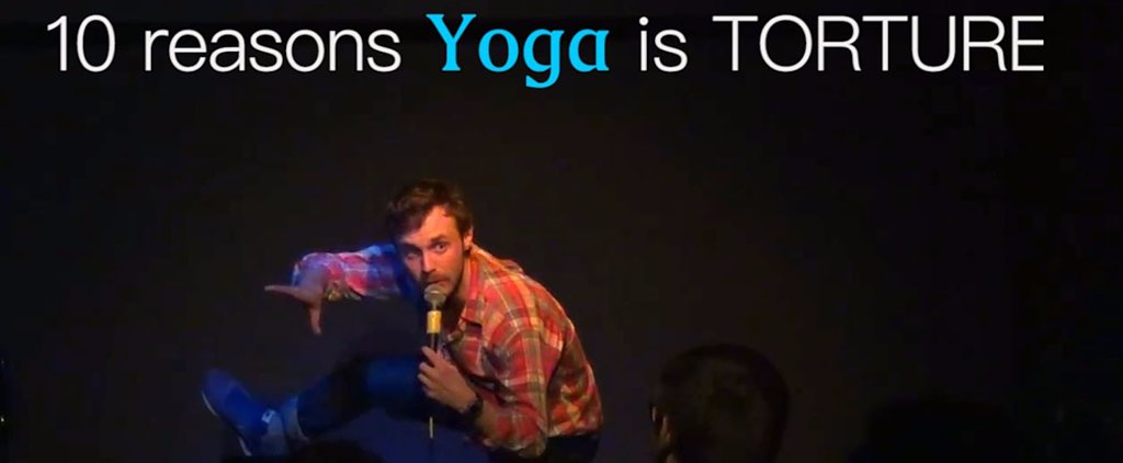 Have You Ever Taken a Crazy Yoga Class Like This?