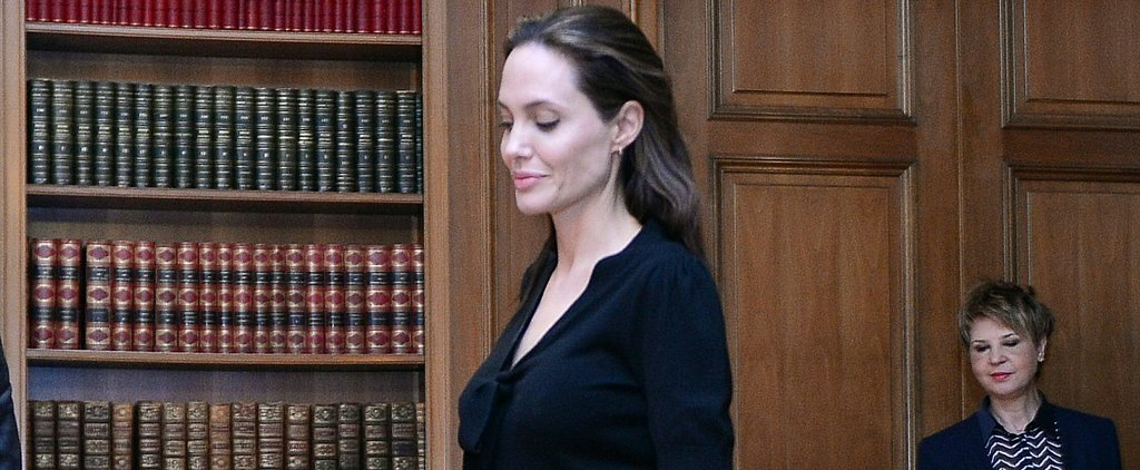 Angelina Jolie Has the On-Trend Outfit Solution Your Boss Will Approve Of