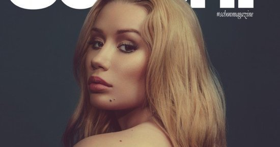 Iggy Azalea Poses Topless For Sexy Schön! Magazine Shoot