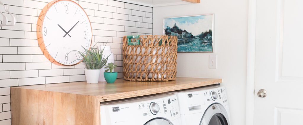 POPSUGAR Shout Out: How to Transform a Basic Laundry Room on a Budget