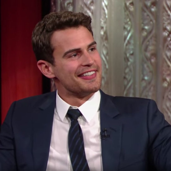 Theo James on Stephen Colbert Video March 2016