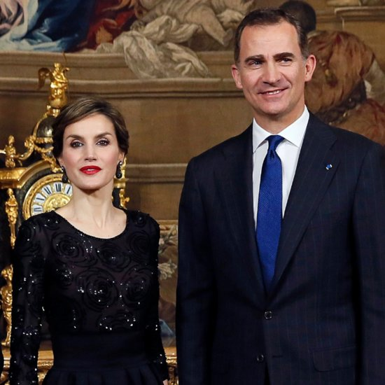 Queen Letizia's Updo March 2016