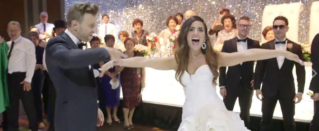 See the Unexpected Way This Bride and Groom Got Everyone on the Dance Floor