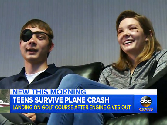 Teens Narrowly Survive Spring Break Plane Crash After Engine Fails: 'I Was Praying We Were Going to Be Okay'