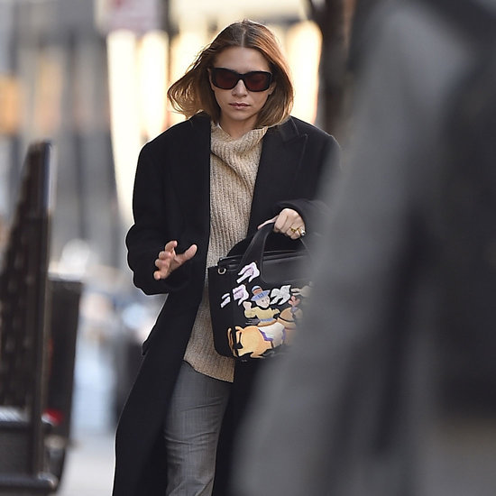 Ashley Olsen's Graphic Handbag