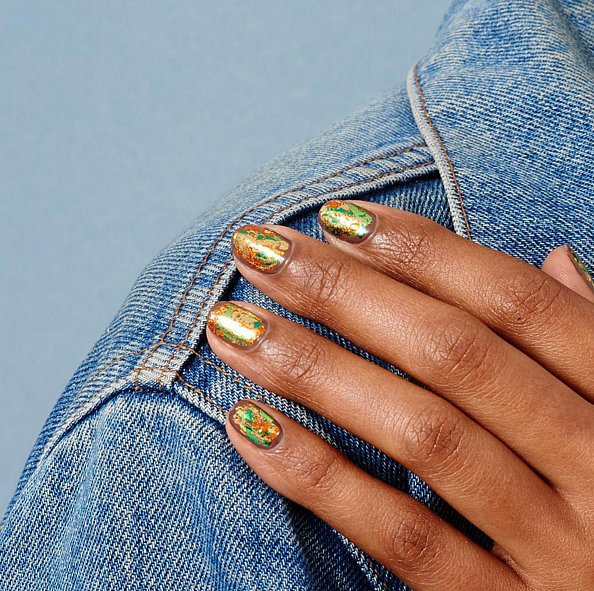 Prettyfulz Fall Nail Art Design 2011: Nail Art For Short Nails