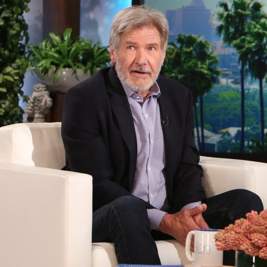 Harrison Ford on The Ellen DeGeneres Show March 2016