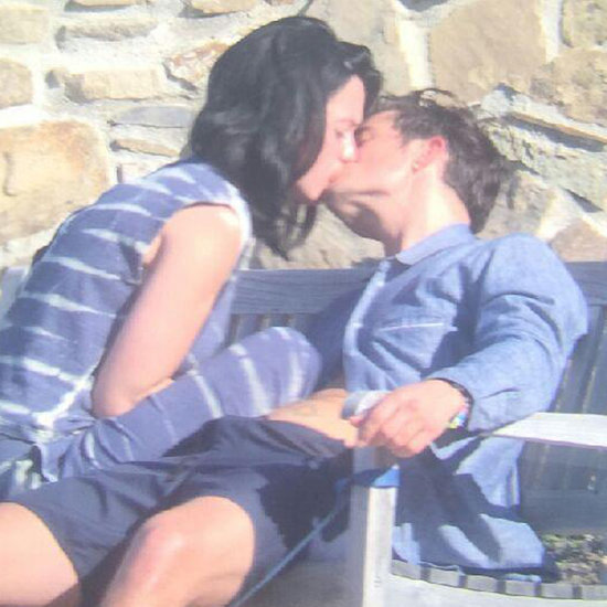 Katy Perry and Orlando Bloom Kissing in LA March 2016