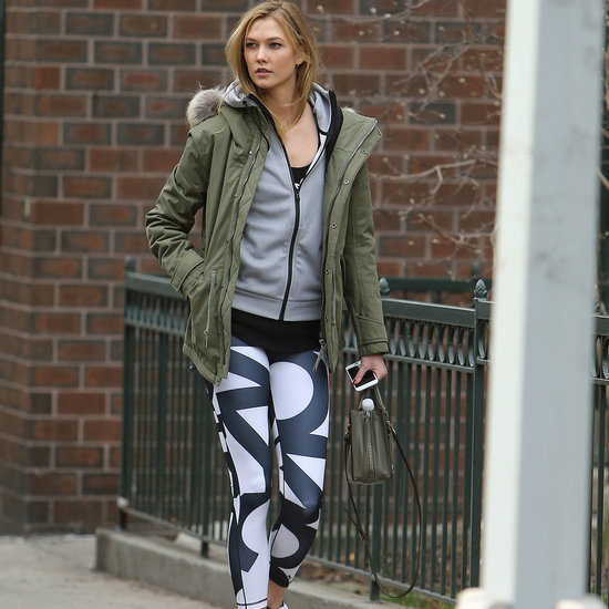 Celebrities Wearing Activewear