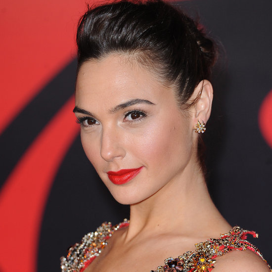 Gal Gadot Hair and Makeup Pictures