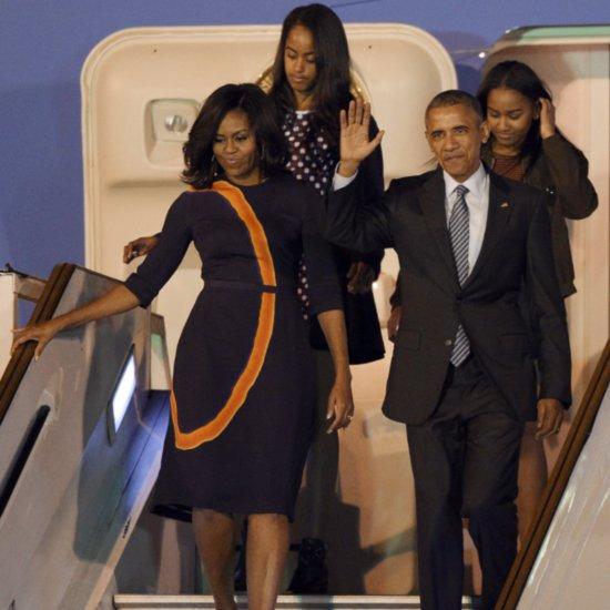 June 21 2015 Malia Sasha And Michelle Obama Leaving: Michelle Obama And Daughters In Europe June 2015