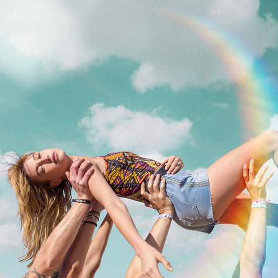 Hailey Baldwin Stars in H&M x Coachella Video