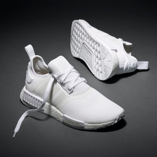 New Adidas Triple White NMD Sneakers