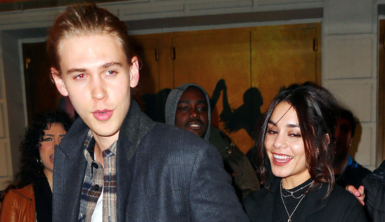 Vanessa Hudgens and Austin Butler Have Date Night on Broadway, See 'Hamilton' With Pal Julianne Hough