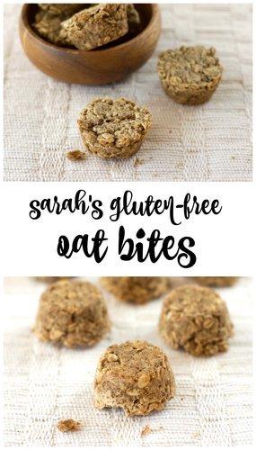 Sarah's Gluten-Free Oat Bites
