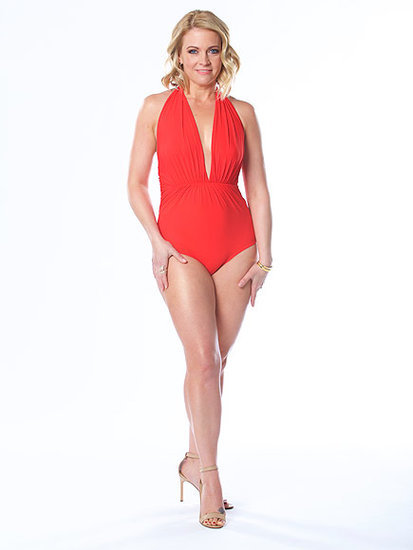 Fit at 'Almost 40!' Melissa Joan Hart Shows Off Her Toned Body in a Red Swimsuit