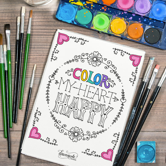 Free Coloring Book Printables