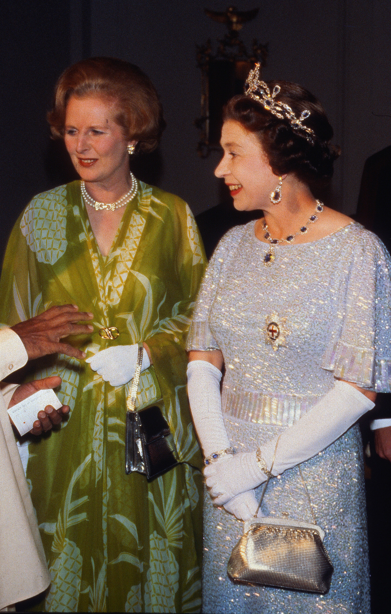 With Margaret Thatcher — the UK's first female prime ...