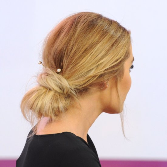 Lauren Conrad's Messy Up 'Do With Pearls | March 2016