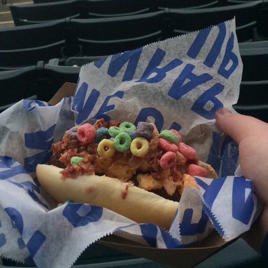 Hot Dog With Froot Loops and Bacon
