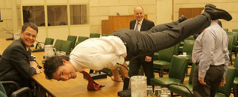 The Canadian Prime Minister's Advanced Yoga Skills Might Surprise You
